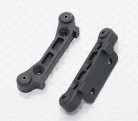 Plastic Rear Susp. Holder - 1/10 Quanum Vandal 4WD Racing Buggy / Desert Fox (2pcs)