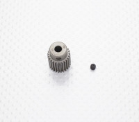 """Hard One"" 0.6M Hardened Helicopter Pinion Gear 5mm Shaft - 25T"