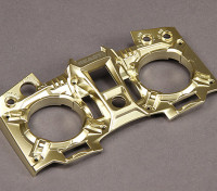 Turnigy 9XR Transmitter Custom Faceplate - Gold