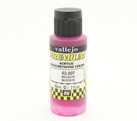 Vallejo Premium Color Acrylic Paint - Magenta (60ml) 62.007
