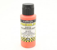 Vallejo Premium Color Acrylic Paint - Candy Orange (60ml) 62.073