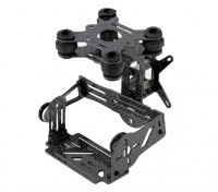 Gopro 3 Carbon Fiber Brushless 2 Axis Gimbal Kit with Damping