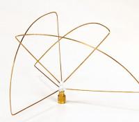 Circular Polarized 900MHz Transmitter Antenna (RP-SMA) (LHCP) (Short)