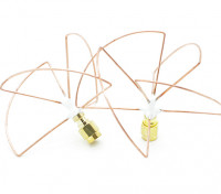 2.4GHz Circular Polarized Antenna SMA LHCP (Set) (Short)