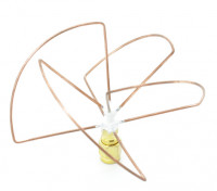 2.4GHz Circular Polarized Antenna RP-SMA Receiver Only (Short)