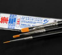 Tamiya High Finish Standard 3 Piece Brush Set