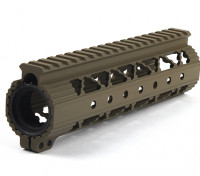 Dytac Invader Lite 7.6 Inch Rail System (Dark Earth)