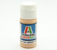 Italeri Acrylic Paint - Flat Skin Tone Warm Tint (4604AP)