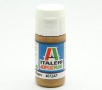 Italeri Acrylic Paint - Metal Gloss Brass (4672AP)