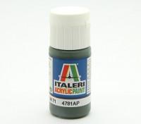 Italeri Acrylic Paint - Dunkelgrün RLM 71 (4781AP)