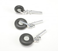 Alloy Oleo Strut set w/wheels for 90mm/1.20 Class Jet