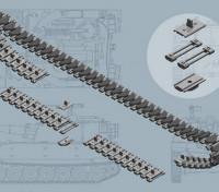 Italeri 1/35 Scale US M108/M109 Series T-136 Tracks Plastic Model Accessories