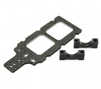 Carbon FPV Transmitter Mount with 10mm Boom Clamp