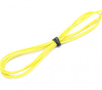 Turnigy High Quality 24AWG Silicone Wire 1m (Yellow)