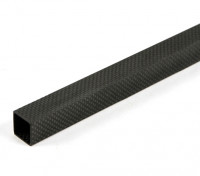 Carbon Fibre Square Tube 20 x 20 x 800mm