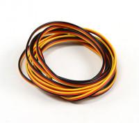 Flat 26AWG servo wire 5mtr (R/B/Y)