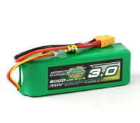 Multistar  LiHV High Capacity 3000mAh 3S 10C Multi-Rotor Lipo Pack