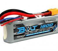 Turnigy Bolt 1800mAh 3S 11.4V 65~130C High Voltage Lipoly Pack (LiHV)