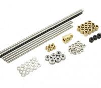 Turnigy Mini Fabrikator 3D Printer v1.0 Spare Parts – Metal Set 1