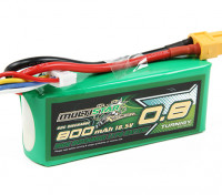 Multistar Racer Series 800mAh 5S 60C Lipo Pack (Gold Spec)