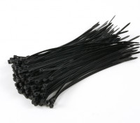 Cable Ties 150mm x 3mm Black (100pcs)