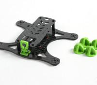 Diatone Lizard 150 v2.0 CF Frame Kit (Green)