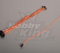 40CM Servo Lead (JR) 32AWG Ultra Light (10pcs/bag)
