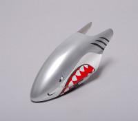 Fibreglass Canopy for 450 Helicopter - Shark