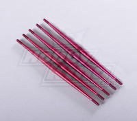 Aluminum Anodised Turnbuckle Push Rods (5pcs/bag)