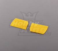 450 Size Heli Flybar Paddle Yellow (pair)
