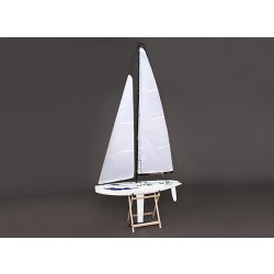 Fiberglass RC Yacht Sailboat Monsoon 900mm (ARR)