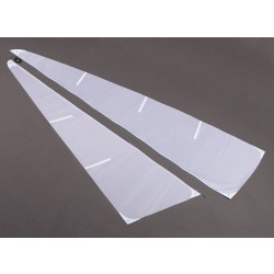 Fiberglass RC Yacht Sailboat Monsoon - Sail Set (2pcs)