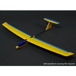HobbyKing™ Guppy Mini Slope Glider Balsa 1165mm (KIT)