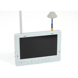Fieldview 777 HD 32 Channel 5.8GHz FPV LCD Monitor w/Auto Search and Diversity Receiver (EU Plug)