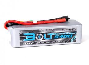 Turnigy Bolt 5400mAh 6S 22.8V 65~130C High Voltage Lipoly Pack (LiHV)
