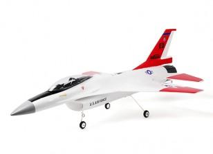 "H-King F-16 Falcon Jet EPO 64mm 3S EDF sports 670mm (26"") PNP Version"