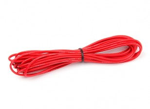 Turnigy High Quality 18AWG Silicone Wire 5m (Red)