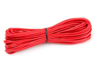 Turnigy High Quality 18AWG Silicone Wire 9m (Red)