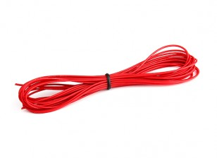 Turnigy High Quality 26AWG Silicone Wire 5m (Red)