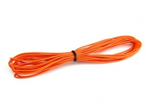 Turnigy High Quality 26AWG Silicone Wire 5m (Orange)