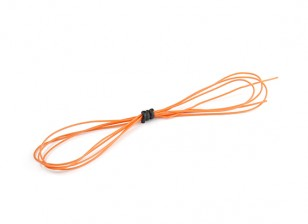 Turnigy High Quality 30AWG Silicone Wire 1m (Orange)