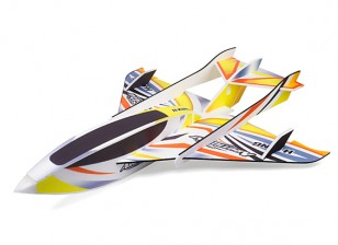 H-King Arctic Cat Water Plane - Glue-N-Go - Foamboard PP 820mm Yellow (Kit)