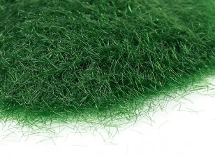 5mm Static Grass Flock - Dark Green (250g)