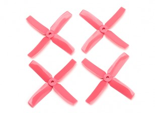 Dalprop Q4040 Bull Nose 4 Blade Propellers CW/CCW Set Pink (2 pairs)