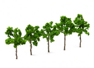 HobbyKing™ 60mm Scenic Wire Model Trees (5 pcs)