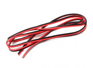 Turnigy High Quality 14AWG Silicone Wire 2M Bonded Pair (Black/Red)