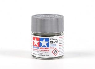 Tamiya XF-16 Flat Aluminum Acrylic Paint (10ml)