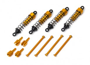 Barren E18 and P.Bull Aluminium Shock and Shaft Set