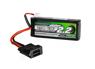 Turnigy nano-tech 2200mAh 2S 30C LiPo Pack w/ Flat Connector