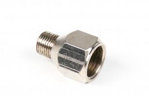 A4 (Silver)1/8'' BSP male-1/4'' BSP female (Silver)